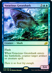 Voracious Greatshark - Foil - Prerelease Promo