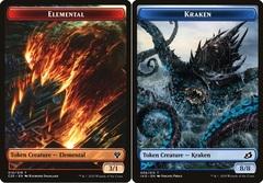 Elemental Token (010) // Kraken Token