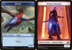Drake Token (008) // Human Soldier Token (005)