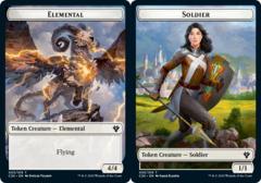 Elemental Token (003) // Soldier Token