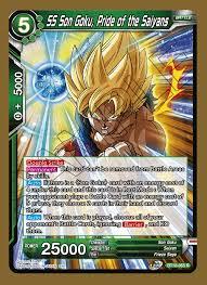 SS Son Goku, Pride of the Saiyans - BT10-065 - R