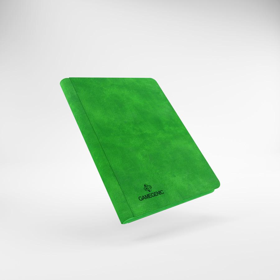 Gamegenic - Zip-Up Album 18-Pocket - Green