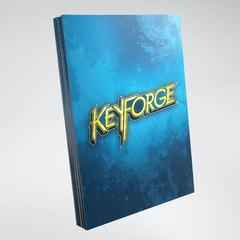 Gamegenic - KeyForge Logo Sleeves - Blue