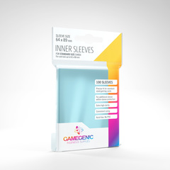 Gamegenic - Inner Sleeves - 100ct Clear