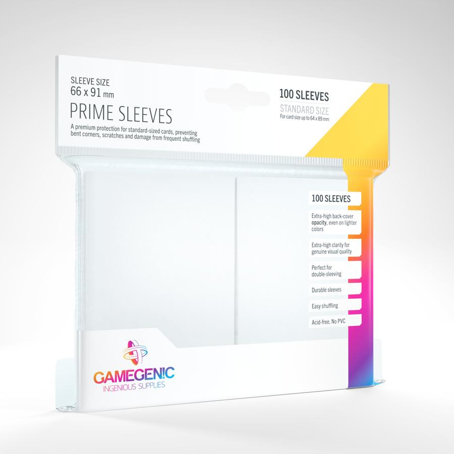 Gamegenic - Prime Sleeves - White (100)