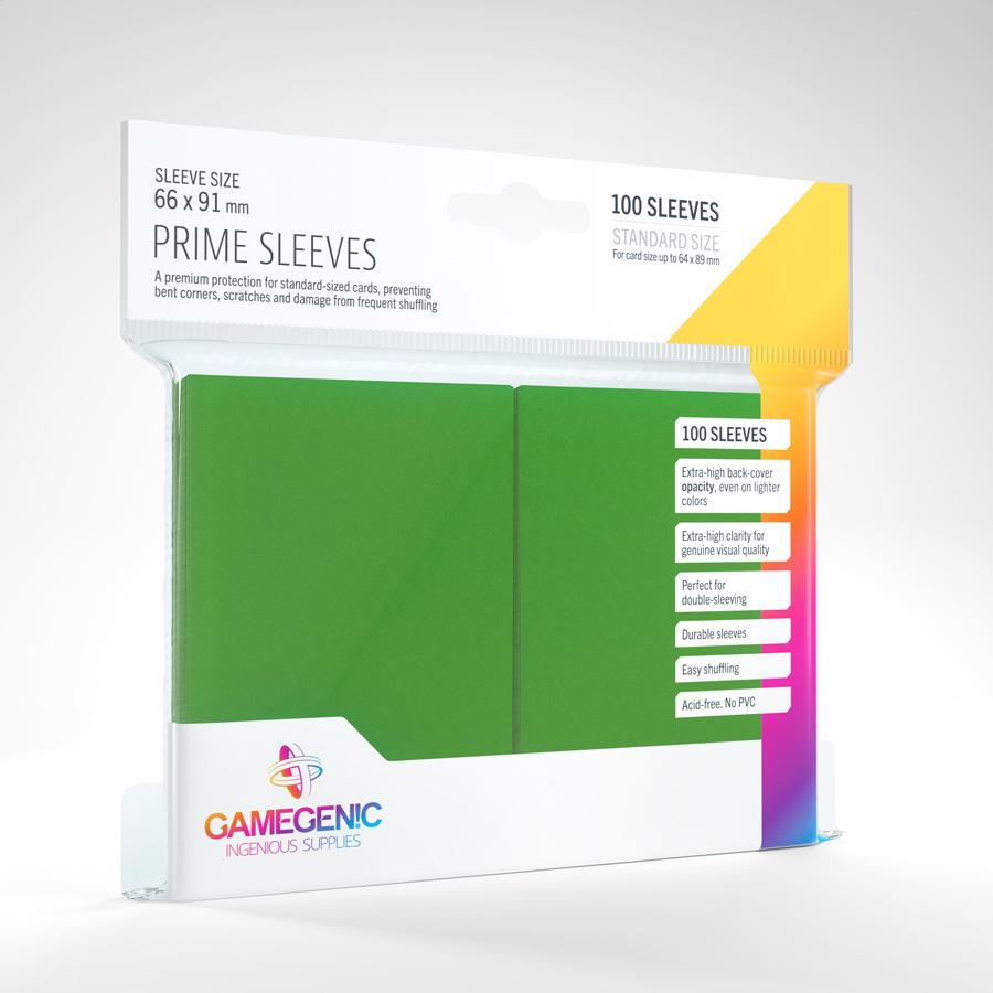 Gamegenic - Prime Sleeves - Green (100)