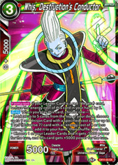 Whis, Destruction's Conductor - EX11-03 - EX - Foil