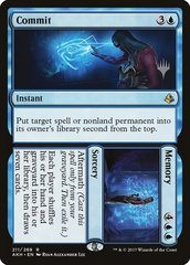 Commit // Memory - Foil - Promo Pack