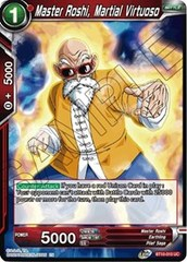 Master Roshi, Martial Virtuoso - BT10-010 - UC - Foil