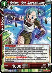 Bulma, Out Adventuring - BT10-012 - UC - Foil