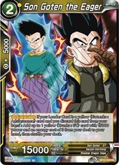 Son Goten the Eager - BT10-102 - UC - Foil