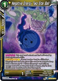 Negative Energy Two-Star Ball - BT10-120 - C - Foil