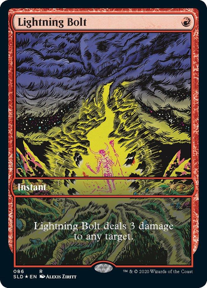 Lightning Bolt - Foil (086)