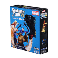 Fantastic Four Cosmic Clash 6-Figure Starter Set