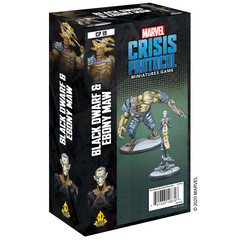 Marvel: Crisis Protocol - Black Dwarf and Ebony Maw