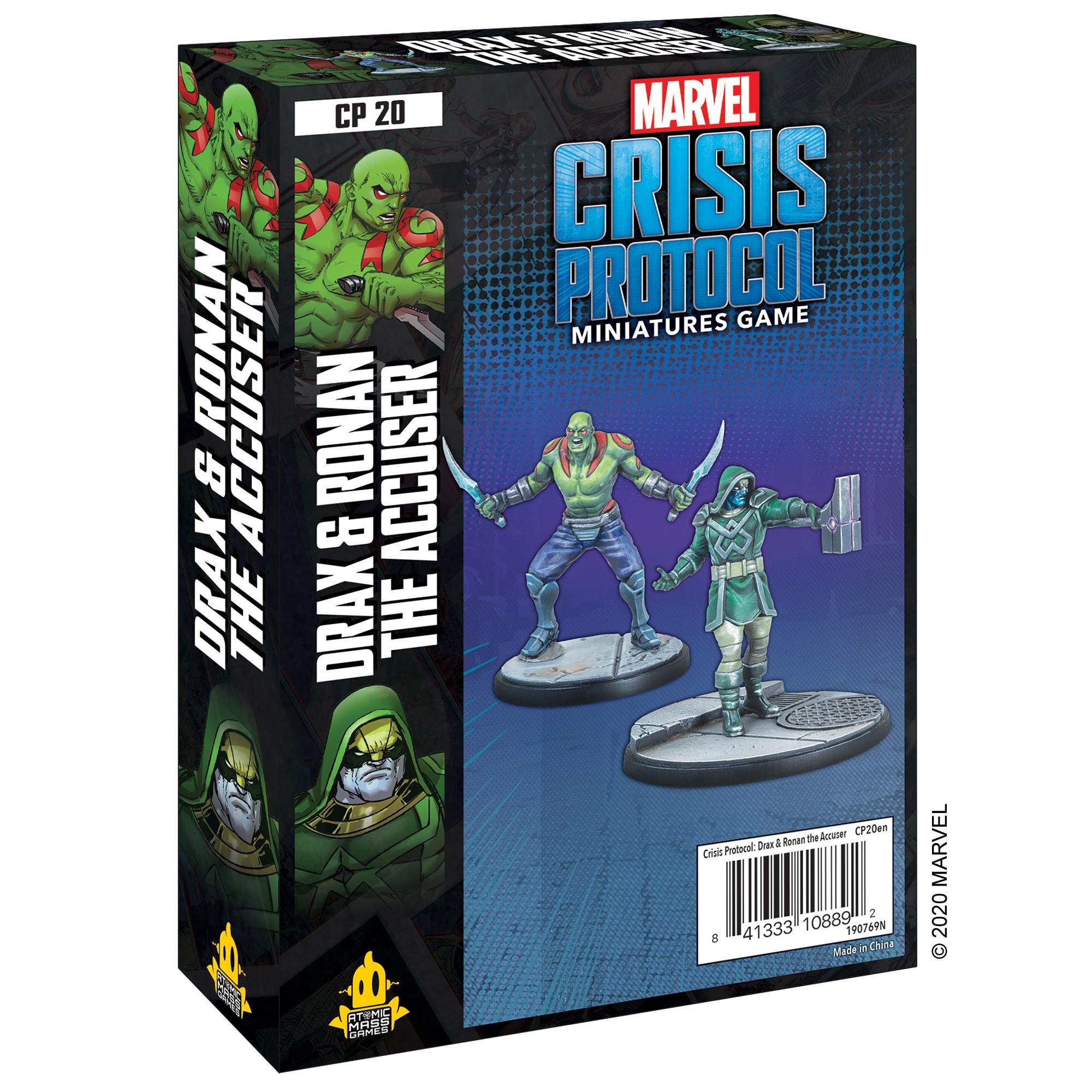 Marvel: Crisis Protocol - Drax and Ronan the Accuser