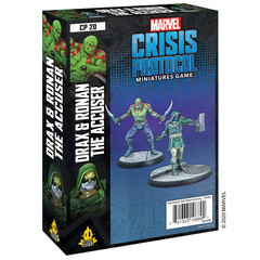 Marvel: Crisis Protocol - Drax and Ronan the Accuser Character Pack