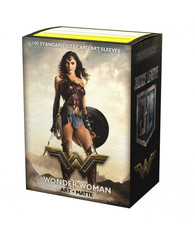 Dragon Shield Matte Art Sleeves: Justice League - Wonder Woman - Limited Edition (100ct)