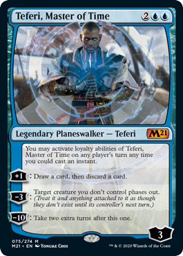 Teferi, Master of Time - Foil