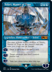 Teferi, Master of Time (291) - Foil - Showcase