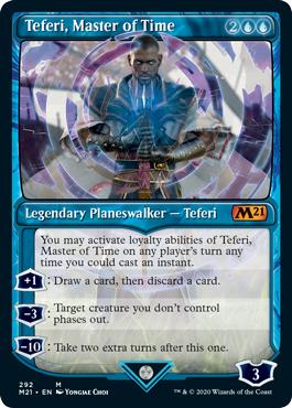 Teferi, Master of Time (292) - Foil - Showcase