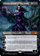 Liliana, Waker of the Dead - Foil - Borderless