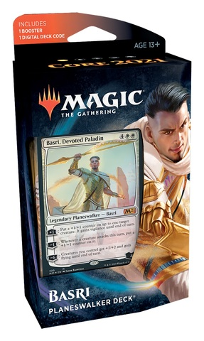 Basri Planeswalker Deck Core Set 2021