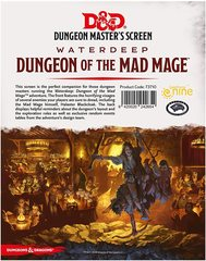Waterdeep: Dungeon of the Mad Mage DM Screen
