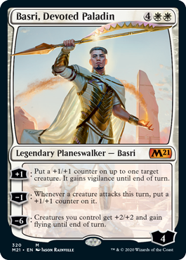 Basri, Devoted Paladin - Foil - Planeswalker Deck Exclusive
