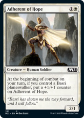 Adherent of Hope - Planeswalker Deck Exclusive
