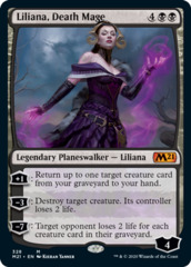 Liliana, Death Mage - Foil - Planeswalker Exclusive