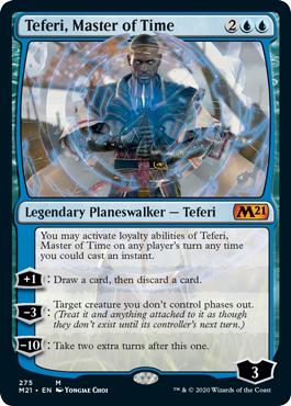 Teferi, Master of Time (275) - Foil - Alternate Art