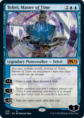 Teferi, Master of Time (276) - Foil - Alternate Art