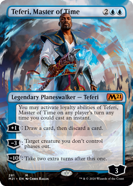 Teferi, Master of Time - Borderless - Foil