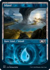 Island (310) - Foil - Showcase