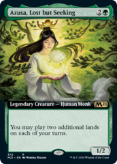 Azusa, Lost but Seeking - Foil - Extended Art