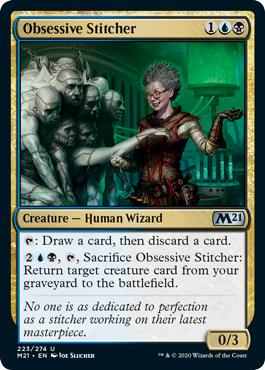 Obsessive Stitcher - Foil
