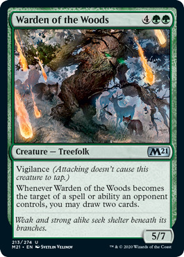 Warden of the Woods - Foil