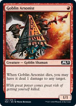 Goblin Arsonist - Foil