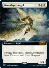 Baneslayer Angel - Foil - Extended Art