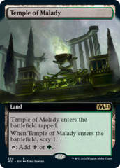 Temple of Malady - Foil - Extended Art