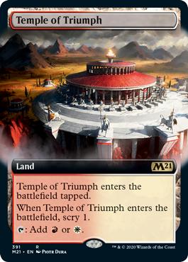Temple of Triumph - Foil - Extended Art