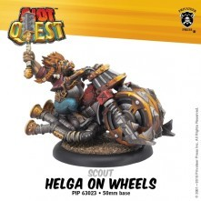 Riot Quest - Helga on Wheels - PIP 63023