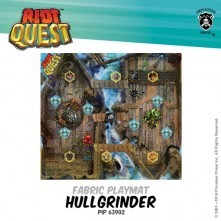 Riot Quest - Hullgrinder Fabric Playmat - PIP 63902