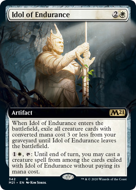 Idol of Endurance - Extended Art