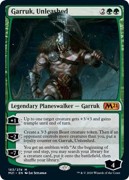 Garruk, Unleashed - Foil