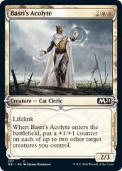 Basri's Acolyte - Foil - Showcase on Channel Fireball