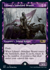 Liliana's Standard Bearer - Foil - Showcase