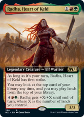 Radha, Heart of Keld - Foil - Extended Art