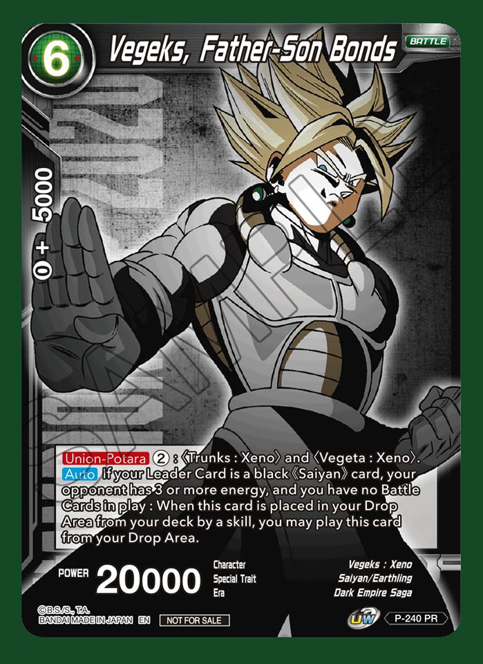 Vegeks, Father-Son bonds (Championship Pack 2020 Vol. 2) - P-240 - PR